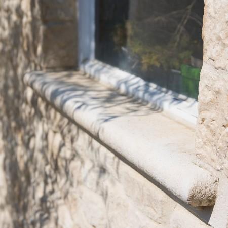 Fenstersims aus Naturstein
